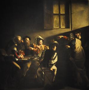 Caravaggio_(1571-1610)_-_De_roeping_van_Matteüs_(1599-1600)_-_Rome_San_Luigi_dei_Francesi_10-01-2011_12-07-56