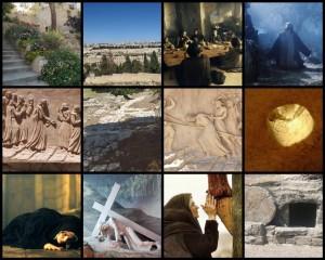 collage fotos retiro semana santa 2020